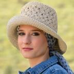 Chapeau Femme Modèle CALAIS 100% Papier MM PARIS