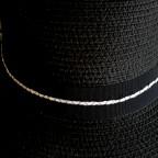 Chapeau MORGANE Noir de MM Paris, Créateur de Turbans