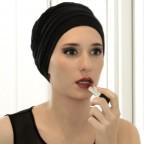 Bonnet Lola réversible Gris et Noir en fibre de bambou