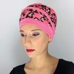 Turban Femme Doris Pink MM Paris, Créateur de Turbans