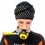 Turban Femme NADIA en fibre de bambou modèle Pois