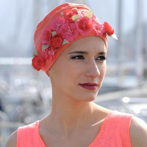 Bijoux de Turbans Petites Fleurs Banches MM PARIS