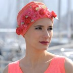 JEWEL TURBAN Little Flowers