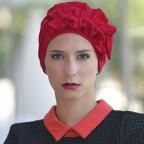 Turban Framboise pour Femme Modèle OCÉANE MM Paris