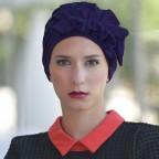 Turban Marine pour Femme Modèle OCÉANE MM Paris
