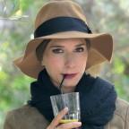 Chapeau Femme Taupe Automne Hiver 100% Laine Modèle Carlo