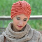 Turban Femme Beige TERRY MM PARIS