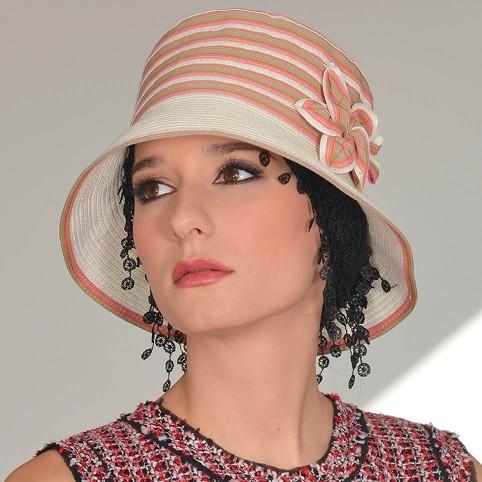 Chapeau Femme éléguant modèle d'été MISSISSIPI MM PARIS