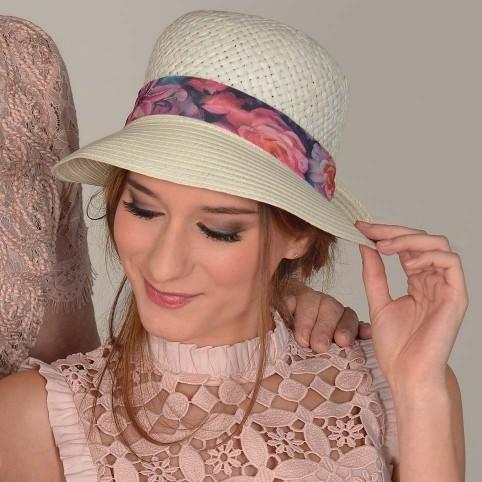 Chapeau Femme 100% papier modèle CHICAGO MM PARIS