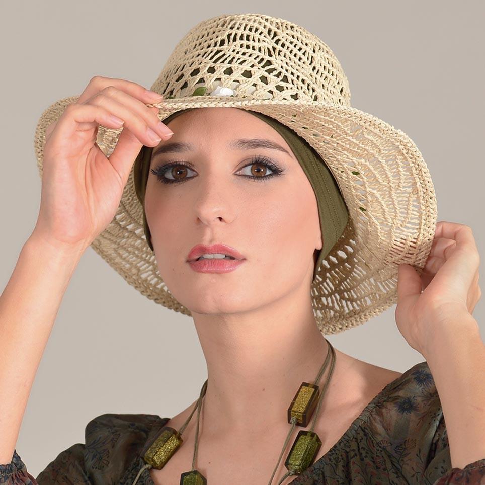 Chapeau Femme 100% Papier ARIZONA MM PARIS