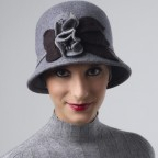 Chapeau Cloche Modèle Cloé MM PARIS Créateur de Chapeaux Femme