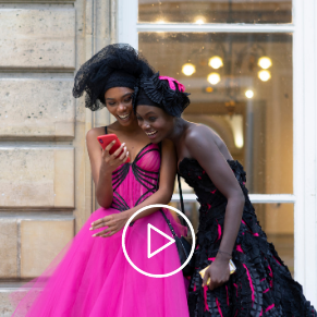 Vidéo Défilé Fashion Day des Turbans de MM Paris, Créateur de Turbans