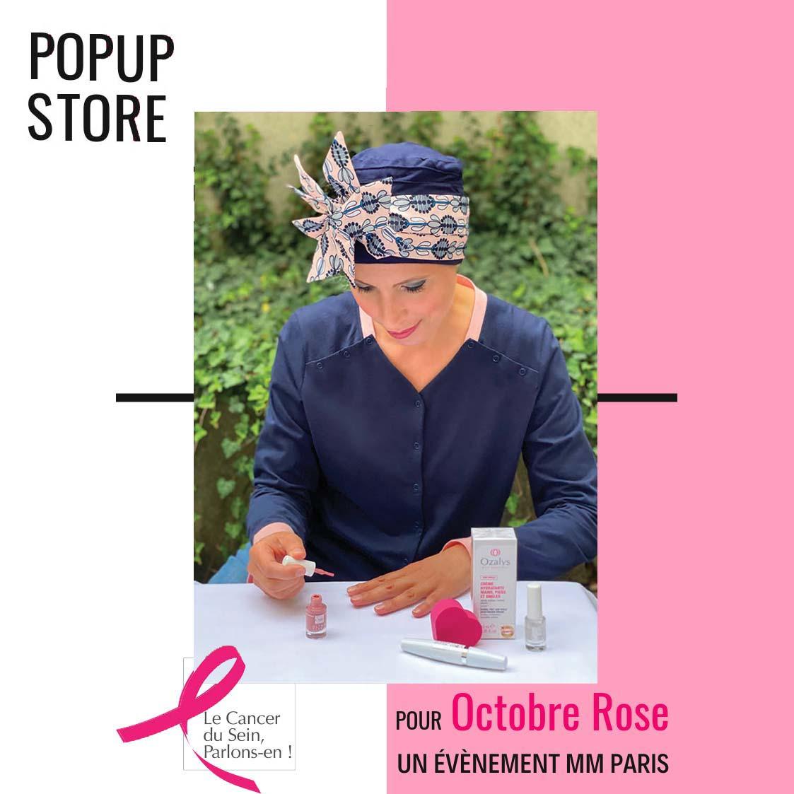 Pop Up Store à Lyon Octobre Rose, ateliers, conférence, rencontres et échanges 1 Place Bellecour