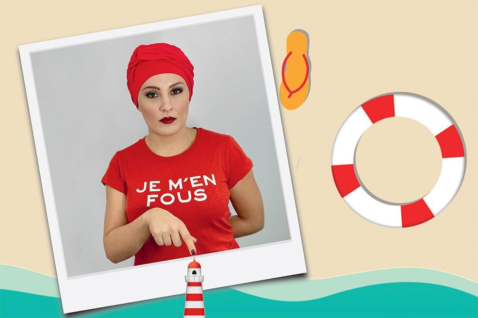 Turban Rouge pour Femme été 2020 MM Paris